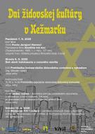 Dni židovskej kultúry aj s dvomi filmami či Memoriálom Eduarda Laufera 1